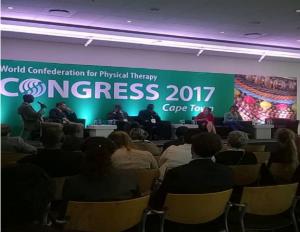 2017 Congrès de la WCPT a Cape Town